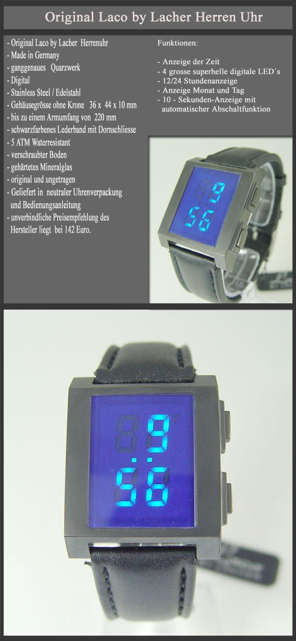 Ausverkauf-Laco-by-Lacher-Herren-Uhr-Digitalanzeige